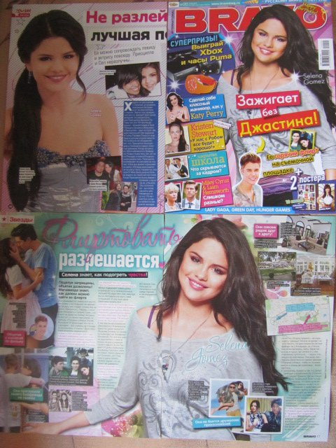 Selena Gomez clippings #2
