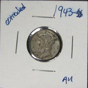 1943 Mercury Dime #1737