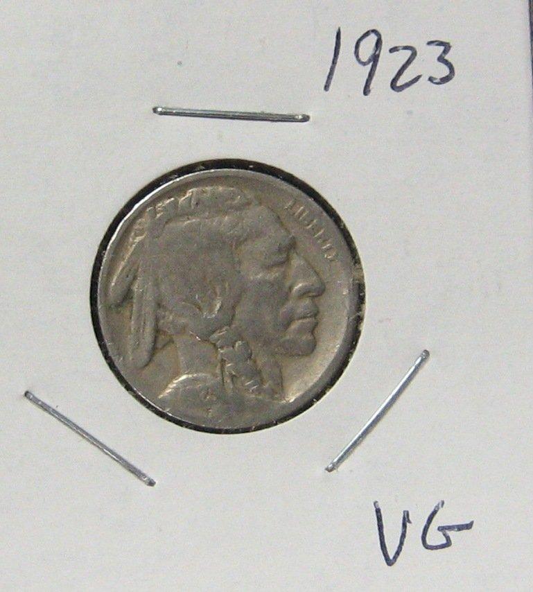 1923 Buffalo Nickel, #1941