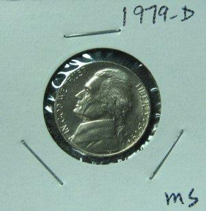 1979-D Jefferson Nickel, #1202