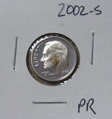 2002-S Proof Roosevelt Dime, #2412