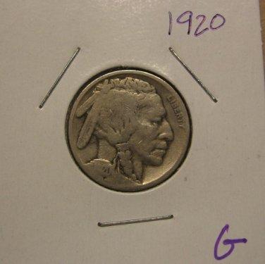 1920 Buffalo Nickel  #3371