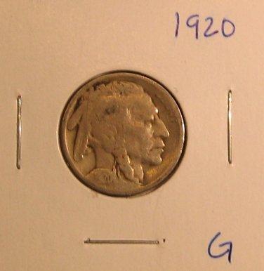 1920 Buffalo Nickel  #413