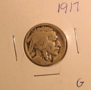 1917 Buffalo Nickel  #1479