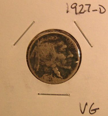 1927-D Buffalo Nickel  #1532