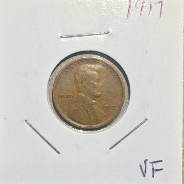 1917 Lincoln Wheat Cent, #874