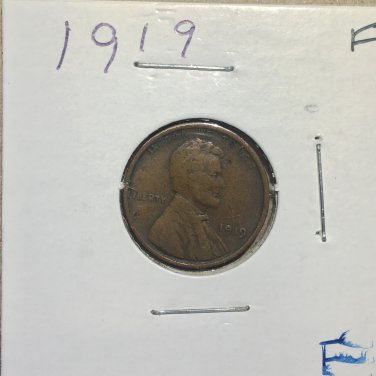 1919 Lincoln Wheat Cent, #2812