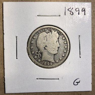 1899 Barber Quarter, #3570