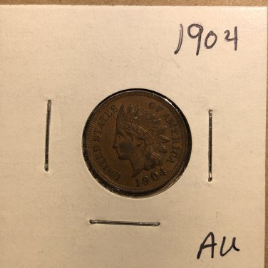 1904 Indian Head Cent, #3595