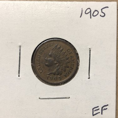 1905 Indian Head Cent, #3594