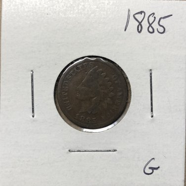 1885 Indian Head Cent, #1901