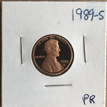 1989-S Lincoln Proof, #3266