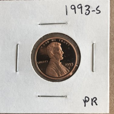 1993-S Lincoln Proof, #3481