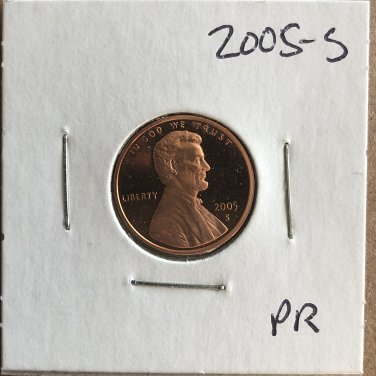 2005-S Lincoln Proof, #2176