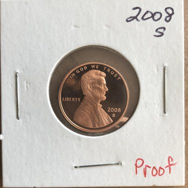 2008-S Lincoln Proof, #2972
