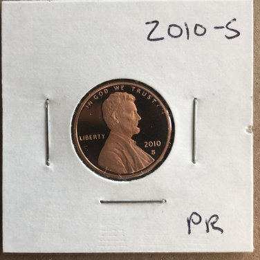 2010-S Lincoln Proof, #2071