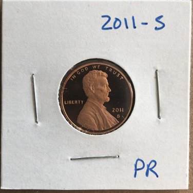 2011-S Lincoln Proof, #2068