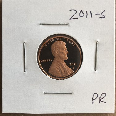 2011-S Lincoln Proof, #2074