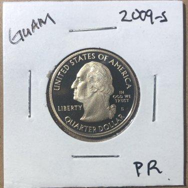 2009-S Proof Washington Quarter Guam, #3644