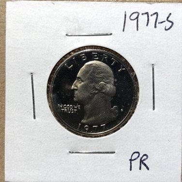 1977-S Proof Washington Quarter #1057