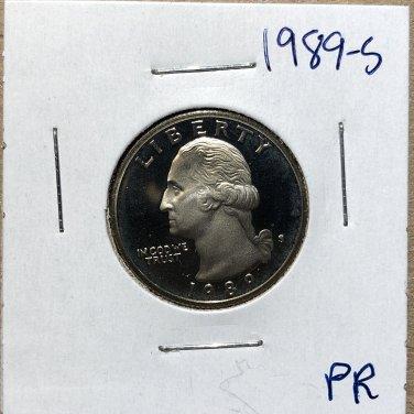1989-S Proof Washington Quarter #3269