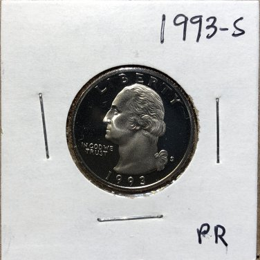 1993-S Proof Washington Quarter #3484