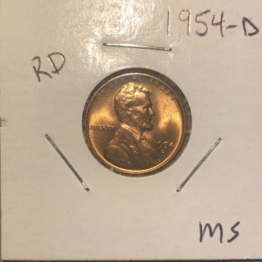 1954-D Lincoln Wheat Cent, #2011