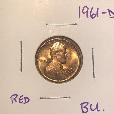 1961-D BU Lincoln #3691