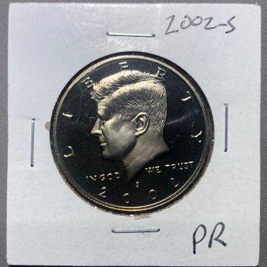 2002-S Kennedy Half Dollar, #3708