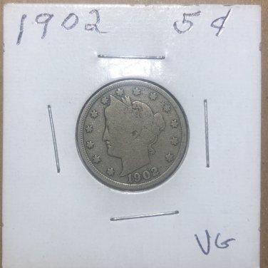1902 Liberty Nickel, #1011