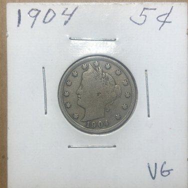 1904 Liberty Nickel, #1013