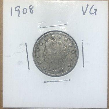 1908 Liberty Nickel, #2887