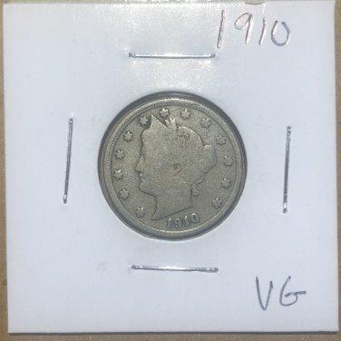 1910 Liberty Nickel, #1715