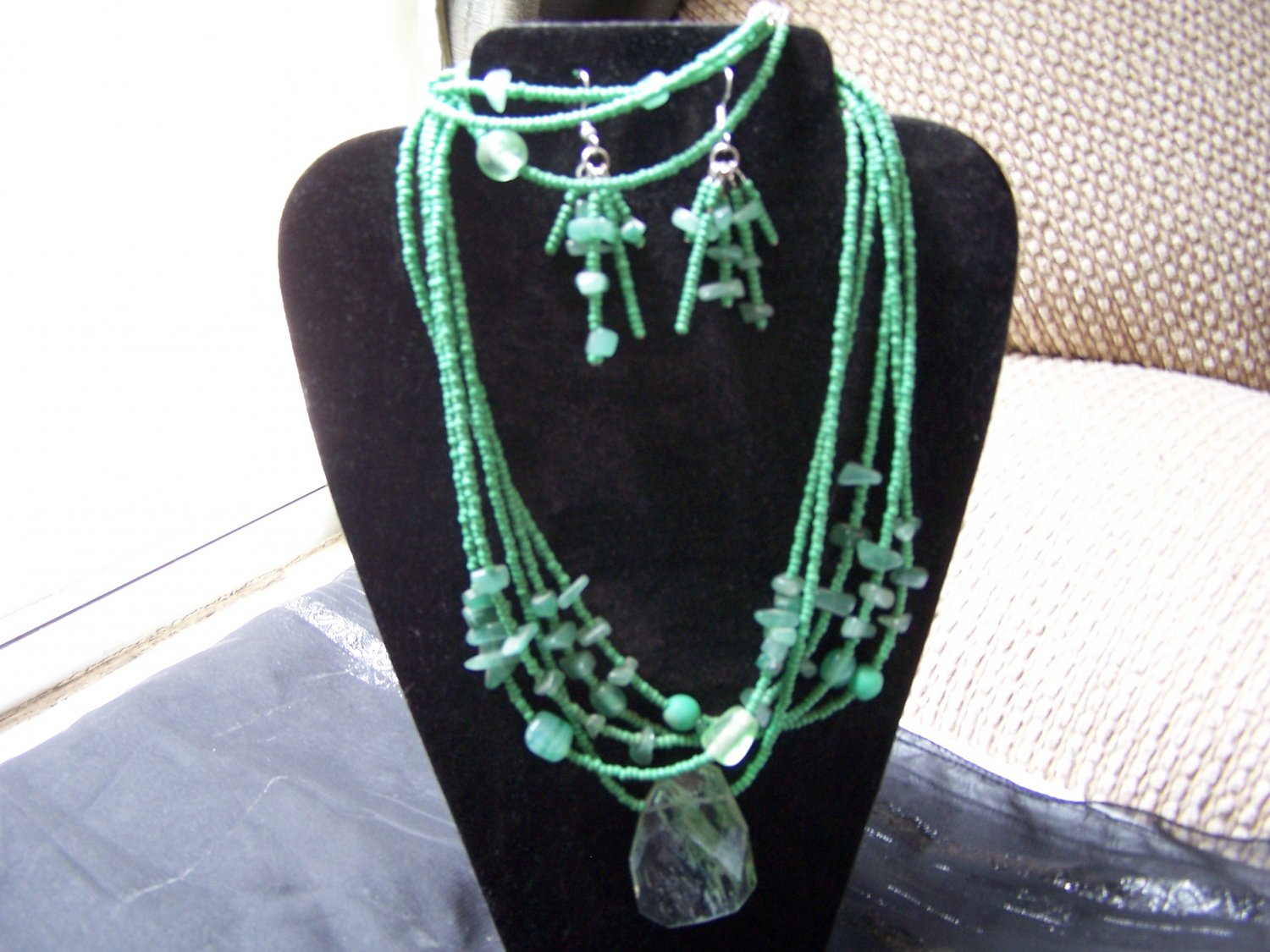 5 Strand Light Green Set