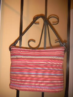 Talbots Shoulderbag/Handbag/Tote...leather trim