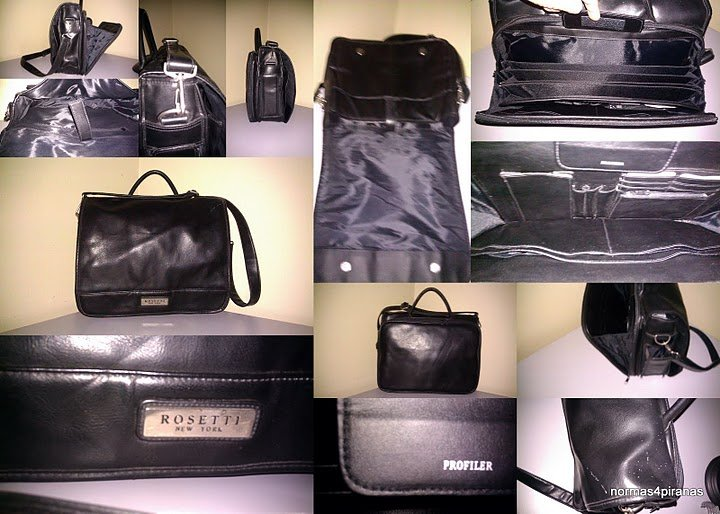 Rosetti New York Orgnaizer Briefcase/faux leather