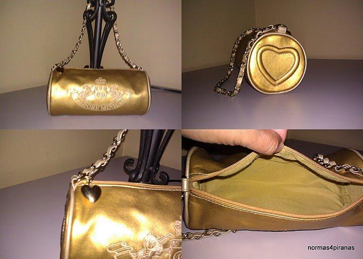 J'Adore Minicci ** gold tone** handbag/shoulderbag