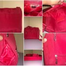 Maxx New York Gorgeous Red Polyester Messenger Bag!!