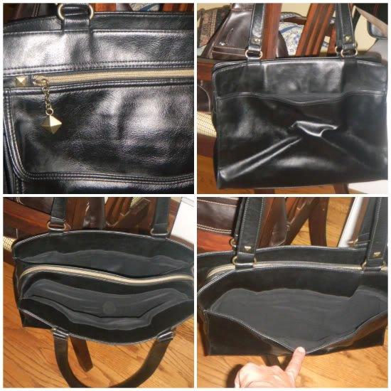 Nine West Black Tote/Shoulderbag/Briefcase