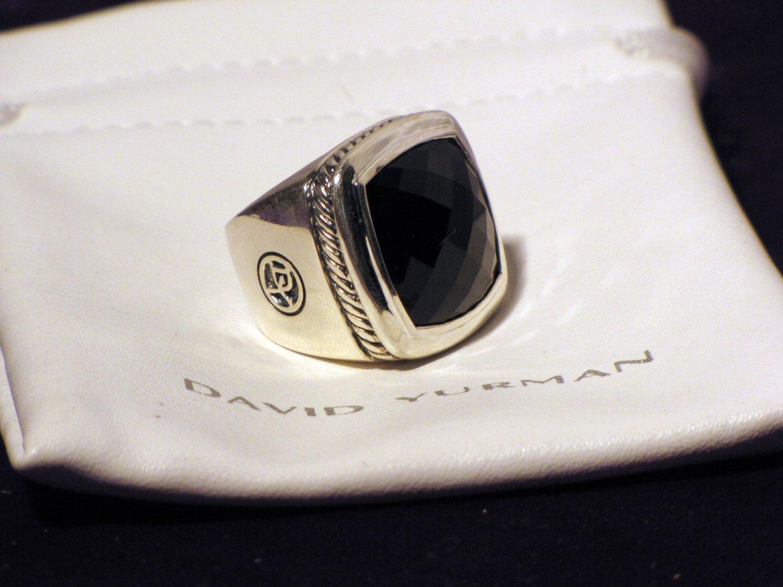 David Yurmen Hematite Albion Ring 20mm