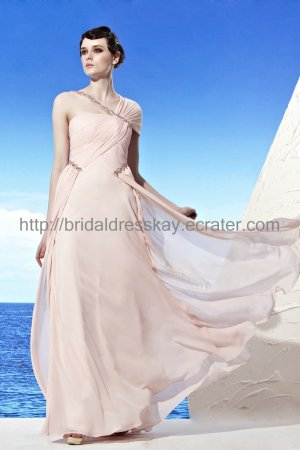 Unique Pink Prom Dress Formal Evening Dress