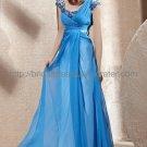 Blue Wedding Party Dress Evening Dress