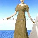 Elegant Short Sleeve Evening Dress Mother Dress