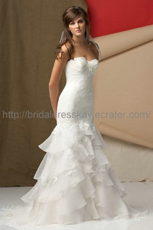 Mermaid Lace 2013 Wedding Dress