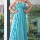 Empire Green Prom Dress Evening Party Dress Bridesmaid Dress