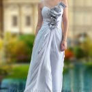 Sweetheart Silver Evening Dress Prom Ball Party Gown