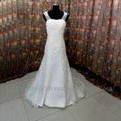 Straps Twist Lace Bridal Wedding Dress Gown