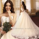 Lace and Tulle Bridal Wedding Dress Gown