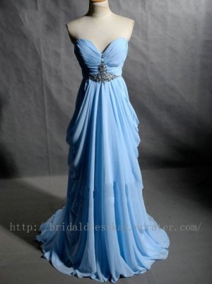 Sweetheart Beaded Bridesmaid Dress Evening party Dress