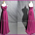 Cap Sleeve Sweetheart Bridesmaid Dress Evening Prom party Dress